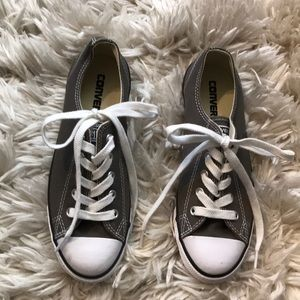 Grey Converse Chuck Taylor All Star Low Top